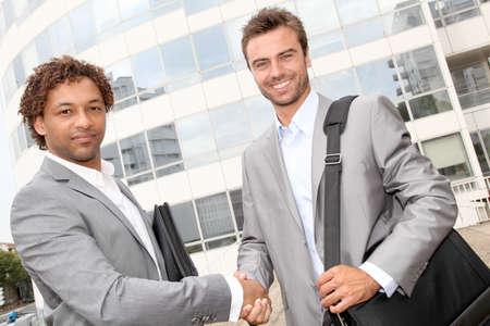Business agreement photo