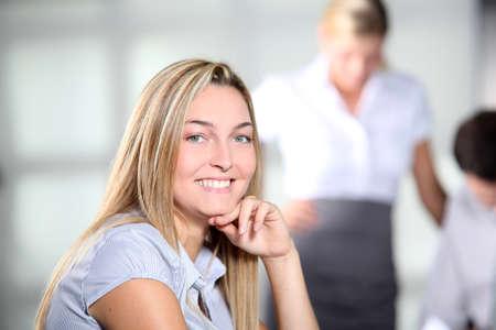 Beautiful businesswoman at work Stock Photo - 8079456
