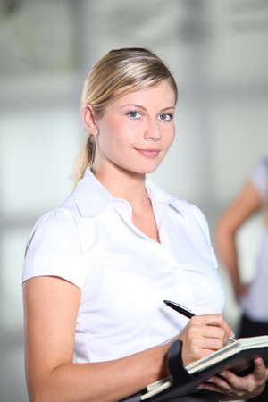 Beautiful businesswoman at work Stock Photo - 8079449