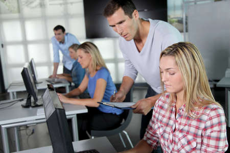 Group of people working in the office Stock Photo - 8087442