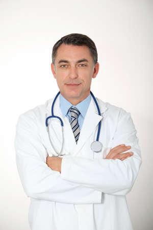 Closeup of doctor photo