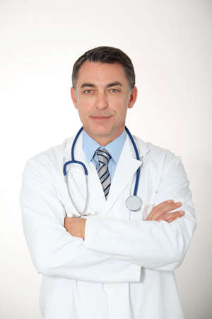 medicalcare: Closeup of doctor