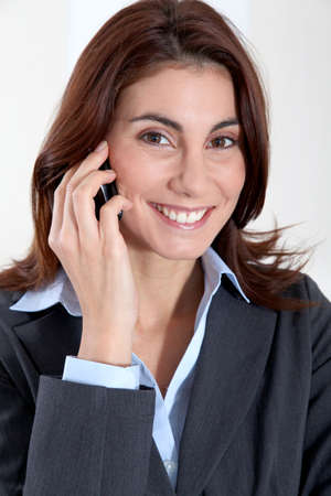 phonecall: Businesswoman on the phone