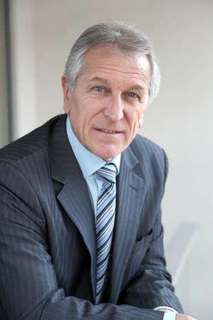 mature businessman: Portrait of senior businessman