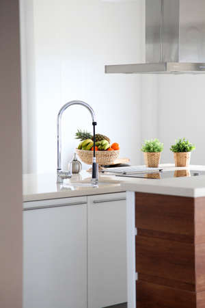 General view of contemporary home kitchen Stock Photo - 9064858