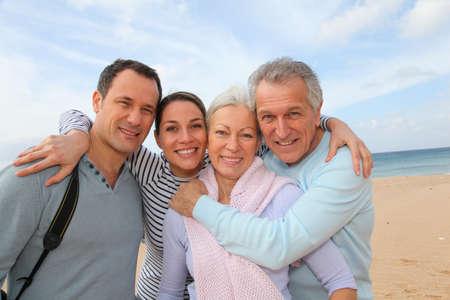 Family vacation at the beach Stock Photo - 9161392