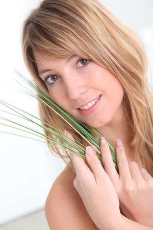 beautycare: Woman and natural beautycare