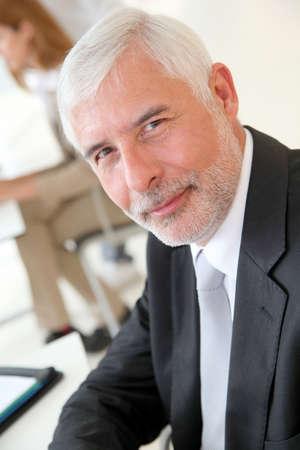 50 years old man: Portrait of senior businessman