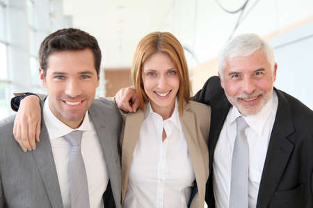 Portrait of business team Stock Photo - 9480716