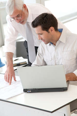 Architects working on planning Stock Photo - 9480657