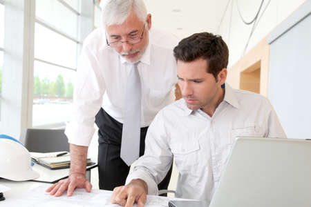 Architects working on planning Stock Photo - 9480663