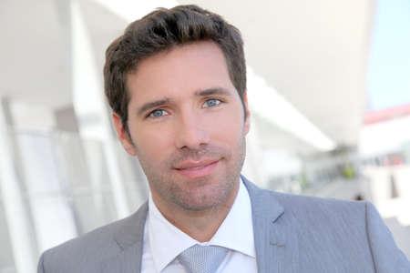 30 years old man: Portrait of handsome businessman