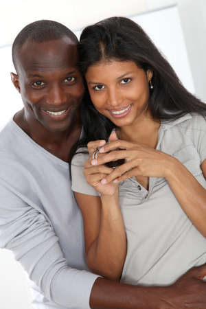 metis: Portrait of metis loving couple