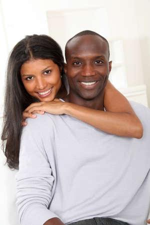 metis: Portrait of happy smiling couple