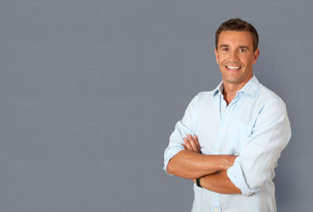 Portrait of handsome smiling man Stock Photo - 9903369