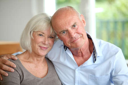 Senior couple embracing each other Stock Photo - 10013781