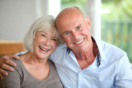 Senior couple embracing each other Stock Photo - 10013788