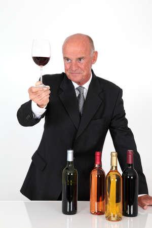 Senior man in wine business Stock Photo - 10013814