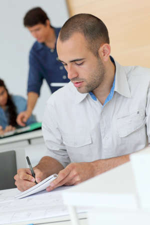 Workgroup in training course Stock Photo - 10013737