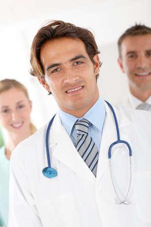 Portrait of smiling practitioner photo