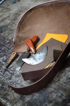 tool bag: Tanner Stock Photo