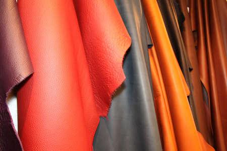 peau cuir: Ensemble de multicolore en cuir