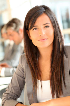 Portrait of beautiful businesswoman at work Stock Photo - 10979047