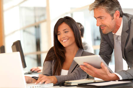 Business people meeting in office Stock Photo - 10978921
