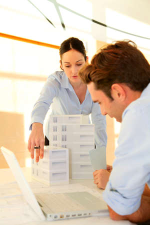 Architects in business meeting Stock Photo - 11851978