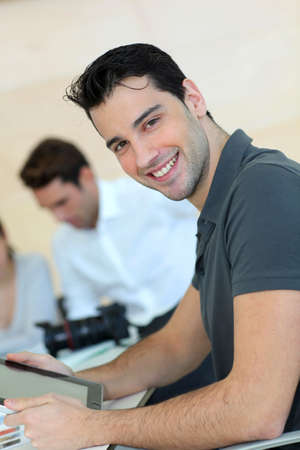 Young adult in business training Stock Photo - 11853475