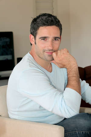 Portrait of handsome 30-year-old man Stock Photo - 13031399
