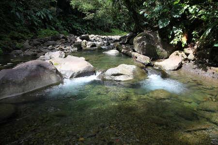 water source: Closeup of natural spring water