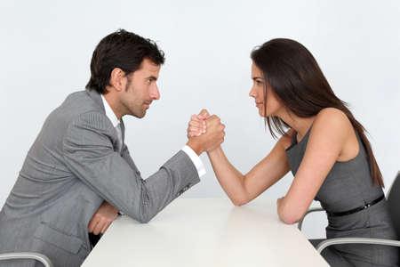 visage homme: Les gens d'affaires et de la parit� professionnelle