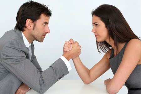 Les gens d'affaires et de la parité professionnelle
