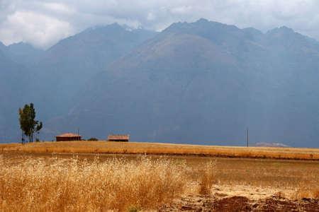 high plateau: High plateau of Moray, Peru