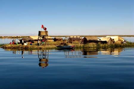 isla flotante: Isla flotante de Valseros, Per� Editorial