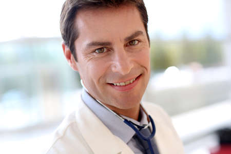 Portrait of smiling doctor Stock Photo - 15811258