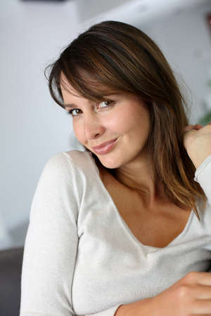 Beautiful woman with glamorous look Stock Photo - 15832026