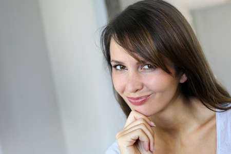 Portrait of attractive young woman Stock Photo - 15849272