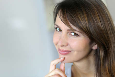 Portrait of attractive young woman Stock Photo - 15849332