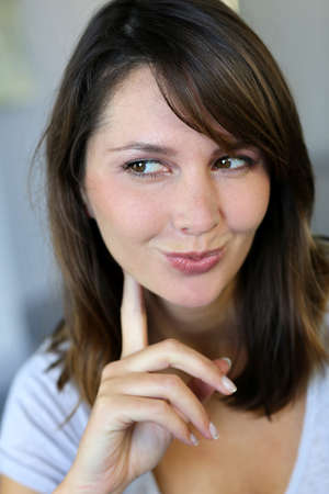 Portrait of charming young woman Stock Photo - 15849336