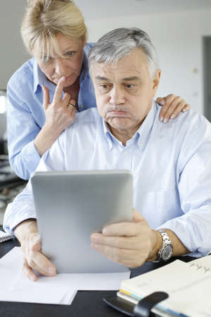 declaration: Senior couple trying to figure out tax declaration