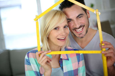 New happy property owners Stock Photo - 18902222