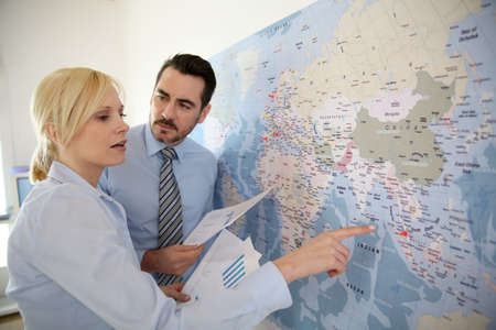 commerce: International commerce partnership