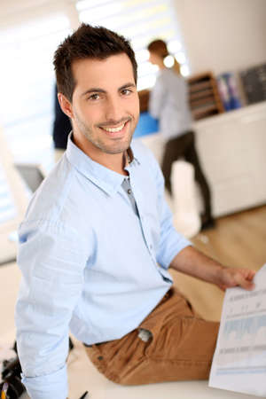 own: Creating your own business Stock Photo