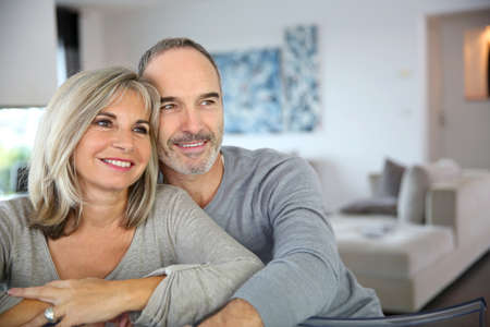 enjoying life: Cheerful senior couple enjoying life Stock Photo