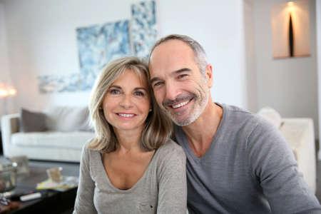 Cheerful senior couple enjoying life Фото со стока