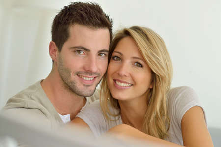 30 year old: Portrait of 30 year old couple