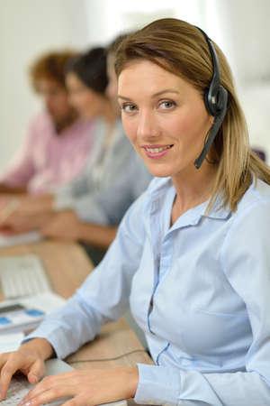prospection: Portrait of mature sales representative