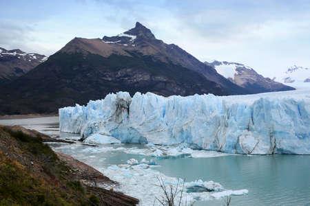 perito moreno: View of Perito Moreno Glacier - Patagonia- Argentina Stock Photo